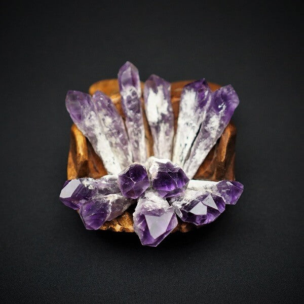 Amethyst Elestial Point - Large - Heavenly Crystals Online