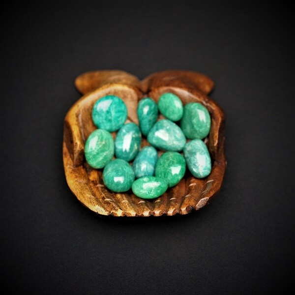 Amazonite Tumbled Stone AAA Grade - Small - Heavenly Crystals Online