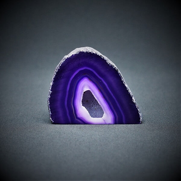 Purple Agate Cave - 400 grams - Heavenly Crystals Online