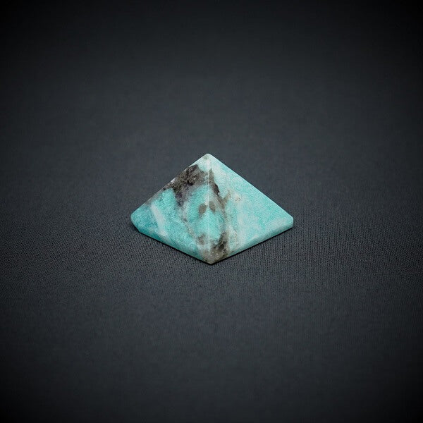 Amazonite with Hematite Pyramid - 80 grams - Heavenly Crystals Online