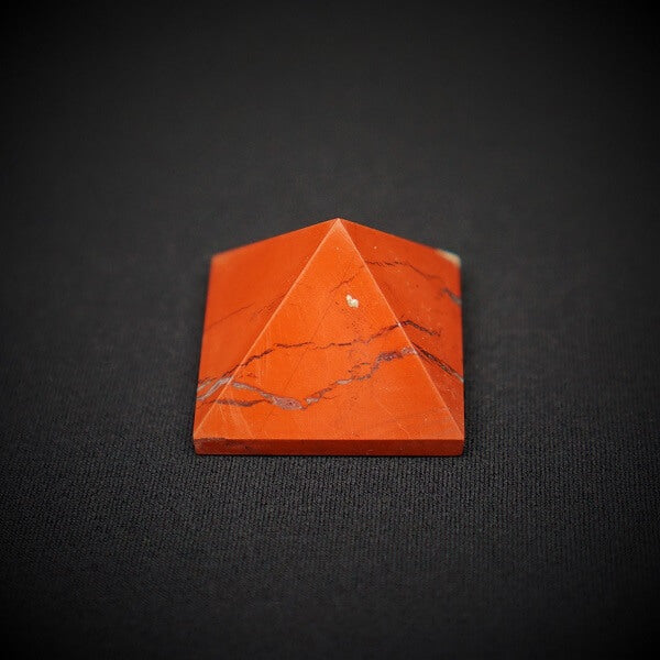 Red Jasper Pyramid - 50 grams - Heavenly Crystals Online