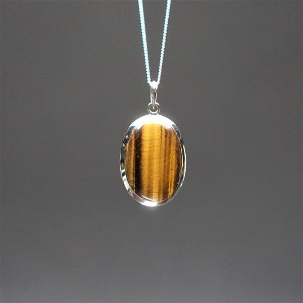 Golden Brown Tiger's Eye 925 Sterling Silver - Heavenly Crystals Online
