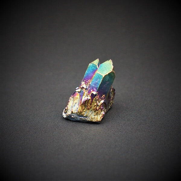 Rainbow Aura Quartz Crystal - 140 grams - Heavenly Crystals Online