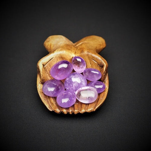 Amethyst Tumbled Stones AAA Grade - Large - Heavenly Crystals Online