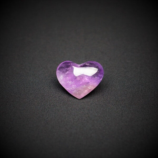 Amethyst Heart Q1A - 60 grams - Heavenly Crystals Online