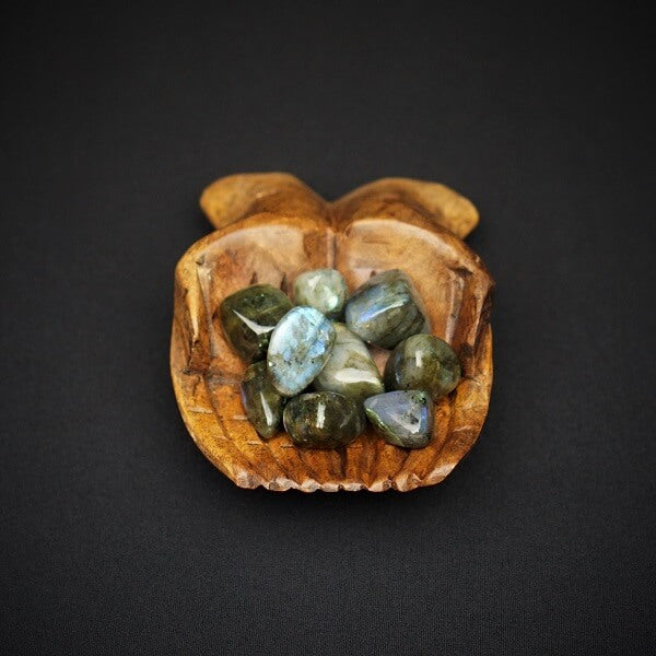 Labradorite Tumbled Stone AAA Grade - XL - Heavenly Crystals Online