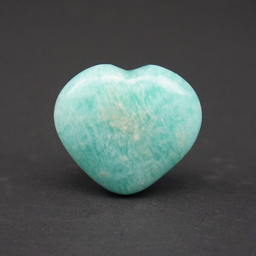 Amazonite Heart - heavenly-crystals-online