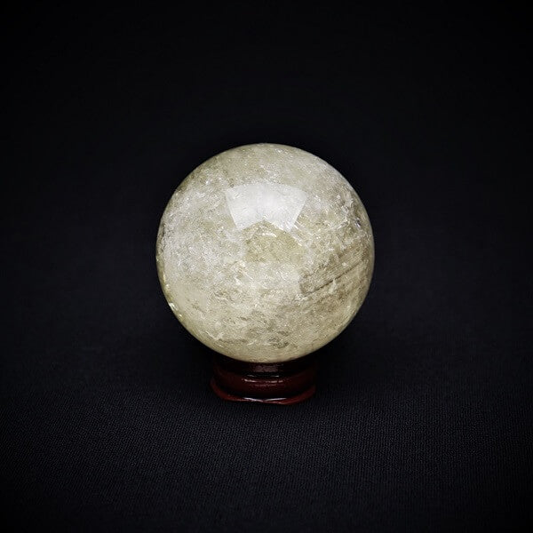 Citrine Sphere AAA Grade Natural - 270 grams - Heavenly Crystals Online
