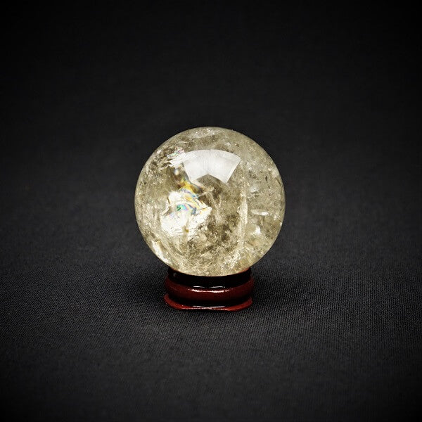 Citrine Sphere AAA Grade Natural - 159 grams - Heavenly Crystals Online