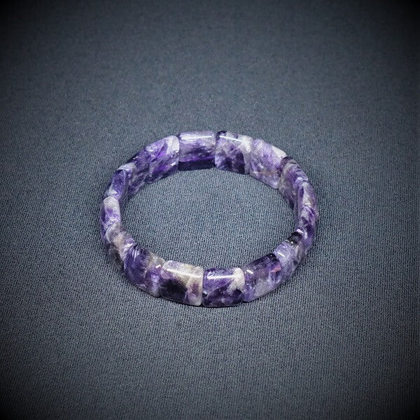 Amethyst Bracelet - 14mm - Heavenly Crystals Online
