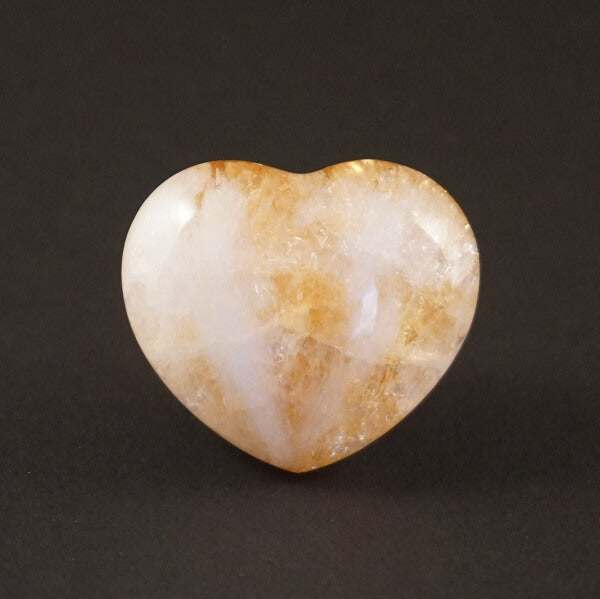 Citrine Heart - 85 grams - Heavenly Crystals Online