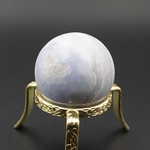 Blue Lace Agate Sphere - heavenly-crystals-online