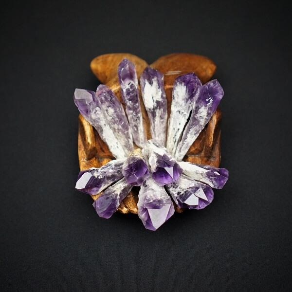Amethyst Elestial Torch Point - Small - Heavenly Crystals Online