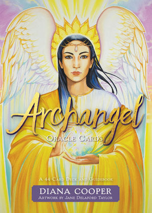 Archangel Oracle Cards A 44-Card Deck and Guidebook - Heavenly Crystals Online