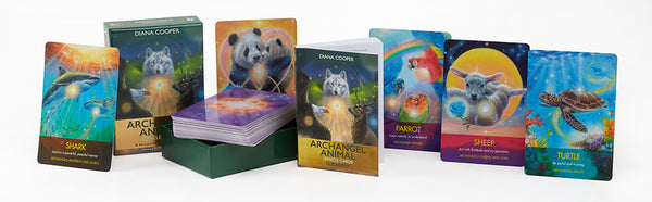 Archangel Animal Oracle Cards : A 44-Card Deck and Guidebook - Heavenly Crystals Online