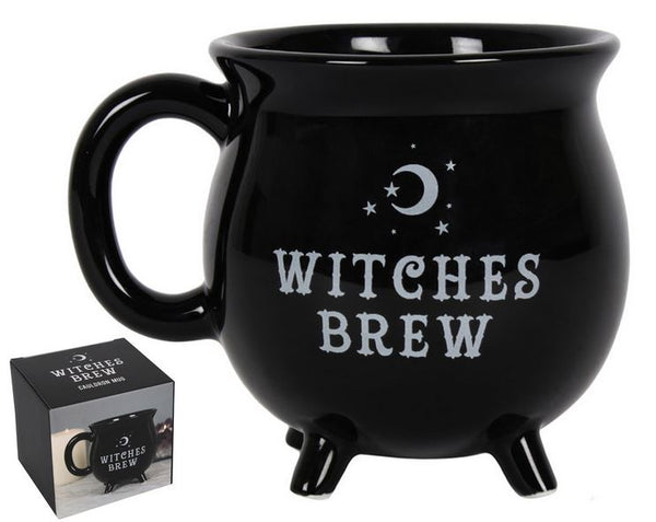 Witches Brew Cauldron Mug in Gift Box