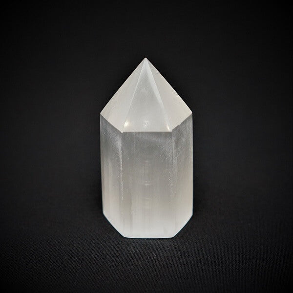 Selenite Generator Point - 328 to 353 grams - Heavenly Crystals Online