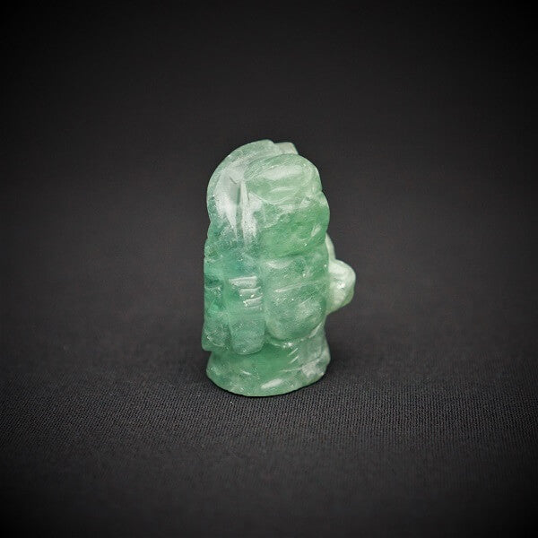 Green Fluorite Standing Buddha Statue - 128 grams - Heavenly Crystals Online