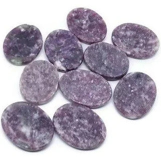 Lepidolite Worry Stone - Heavenly Crystals Online
