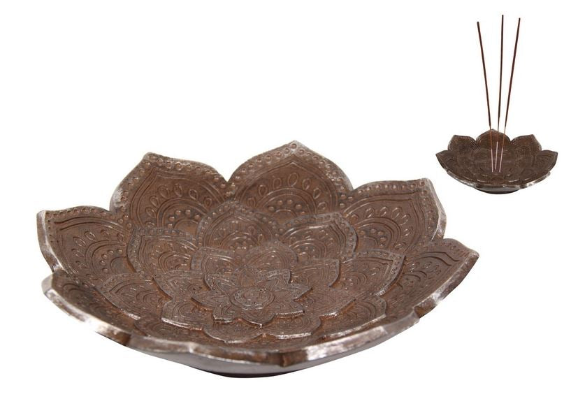 Lotus Mandala Incense Holder/Bowl - Heavenly Crystals Online