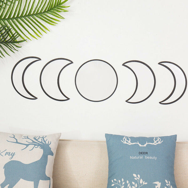 Set of 5 Moon Phase Mirrors - Heavenly Crystals Online