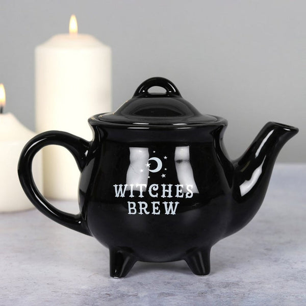 Black Witch Brew Tea Pot in Gift Box - Heavenly Crystals Online