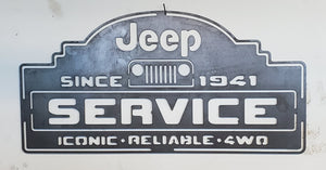 """Jeep Service Sign"""