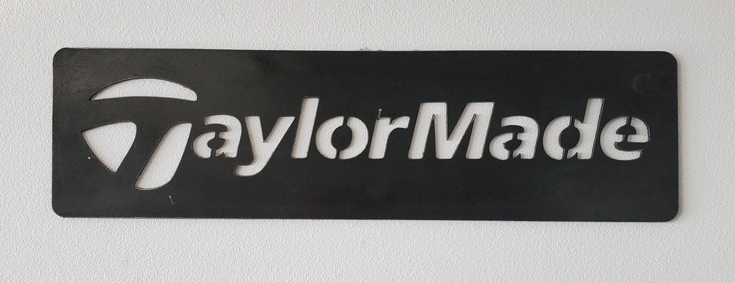 Taylor Made Golf Sign