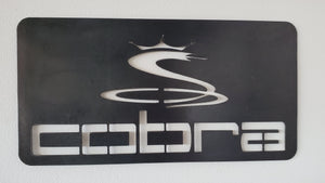Cobra Golf Sign