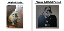 Load image into Gallery viewer, Metal Pet Portrait