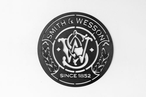 Vintage Replica Smith and Wesson Sign