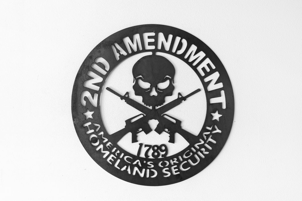 Second Amendment Sign