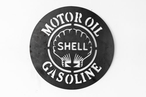 Vintage Replica Shell Sign