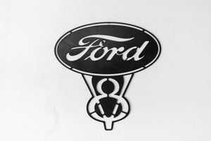 Vintage Replica Ford V8 sign