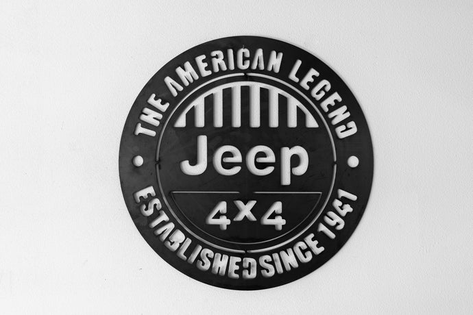Jeep Legend sign