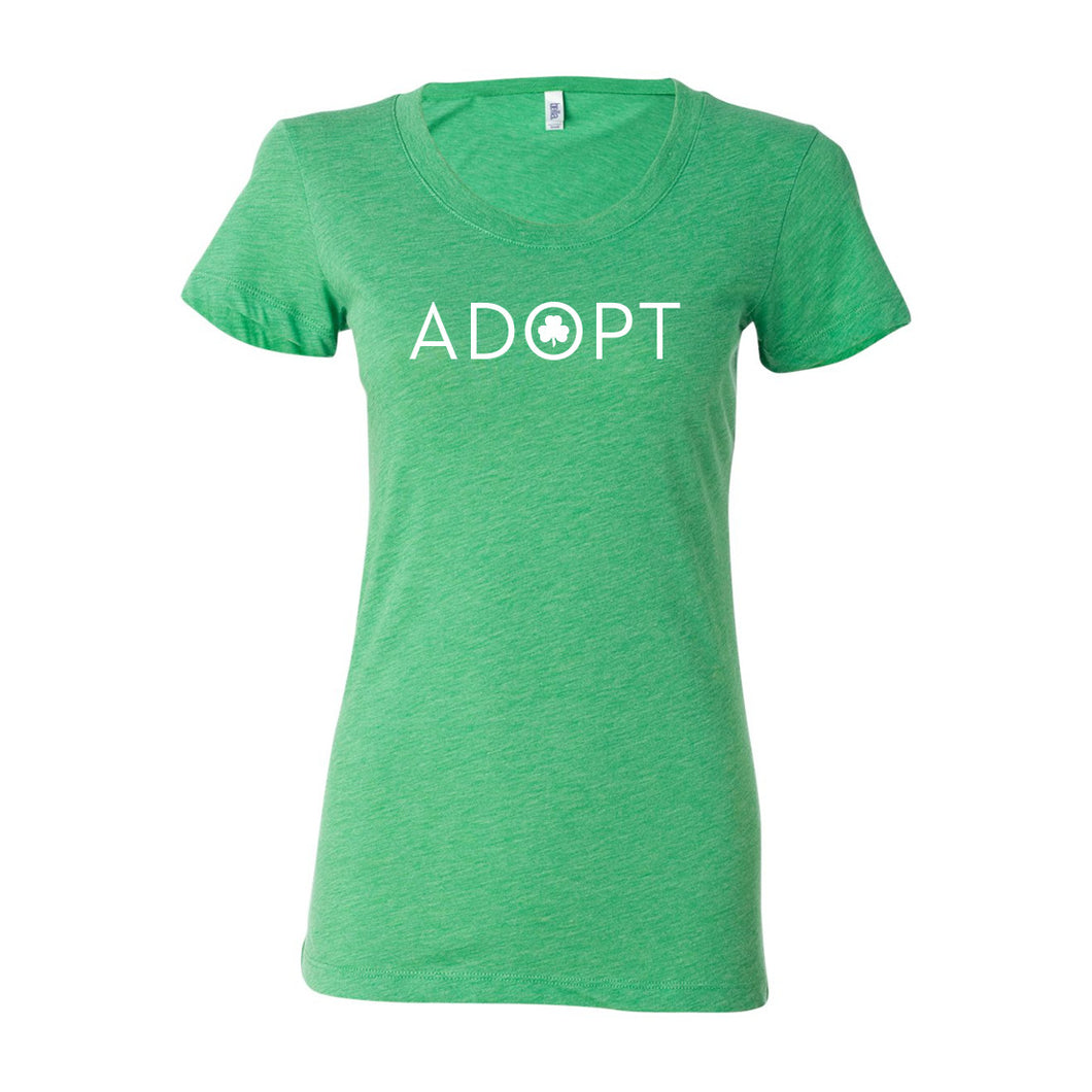 Adopt Shamrock Women's T-shirt