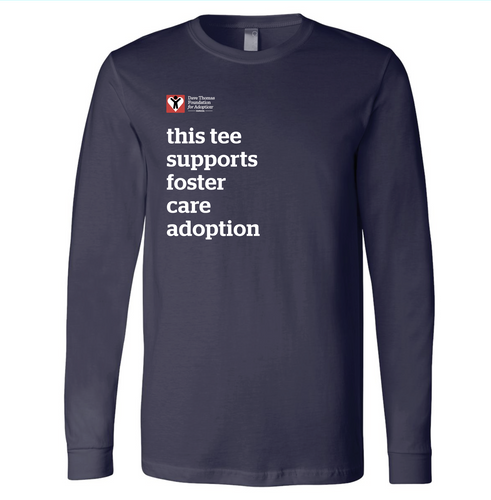 Canada Supports Foster Care Adoption Long Sleeve