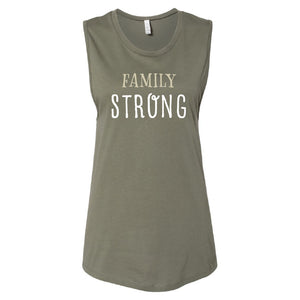 Canada Family Strong Muscle Tank