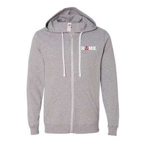 Canada Home Full Zip Hoodie (Multiple Colors Available)