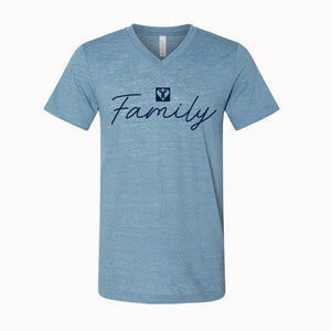 Family Jersey V-Neck (Multiple Colors Available)