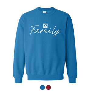Family Crewneck Sweatshirt (Multiple Colors Available)
