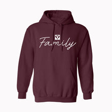 Load image into Gallery viewer, Family Hooded Sweatshirt (Available in Multiple Colors)