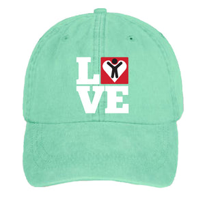 LOVE Hat (Multiple Colors Available)