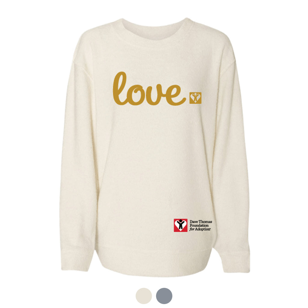 Canada Love Cozy Crew (Multiple Colors Available)