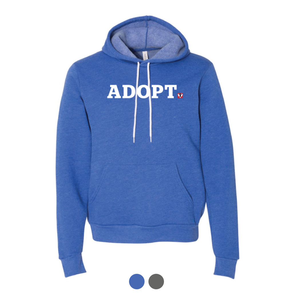 ADOPT Pullover Hoodie (Multiple Colors Available)