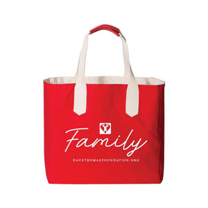 Family Tote Bag (Multiple Colors Available)