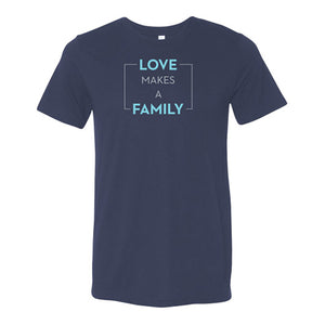 Canada Love Makes a Family T-shirt