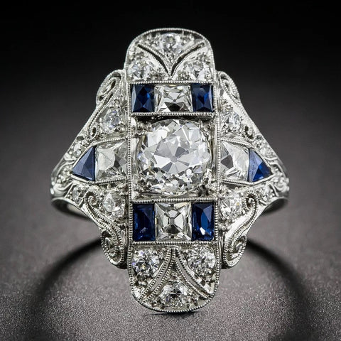 Image of Antique Art Deco Large Ring