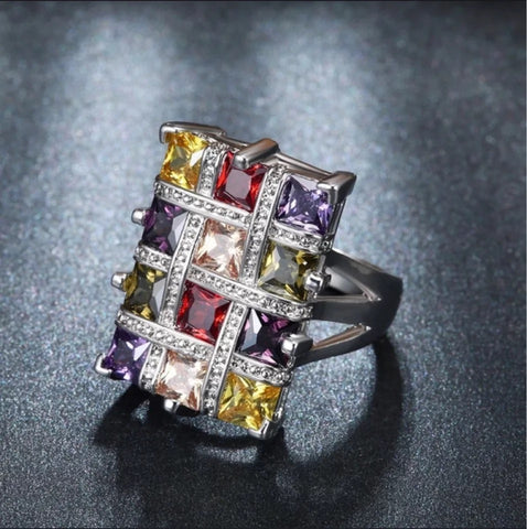 Image of Women's Gemstone Ring