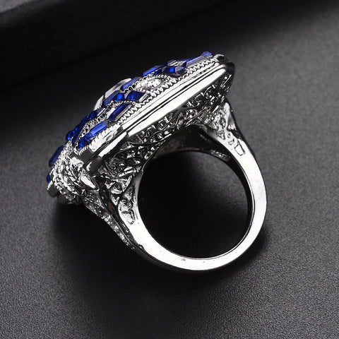 Image of Women Gemstone Ring (Sapphire)